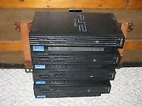 PlayStation 2 Consoles x4 + 55 games