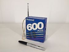 Rare Polaroid 600 plus AM/FM film pack Radio