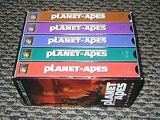 Planet Of The Apes VHS Collection Special Coll Ed Legacy Boxset