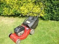 Briggs and Stratton petrol lawn mower