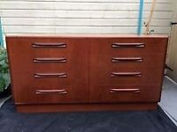 G plan fresco range double chest of drawers/sideboard