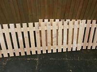 Green Timber Fencing