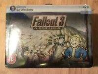 Fallout 3 Collecor's Editon *Sealed* New and in Mint Codition.