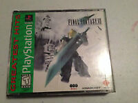 final fantasy 7 and 8. greatest hits