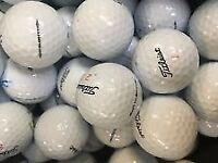 50 mix titleist golfballs