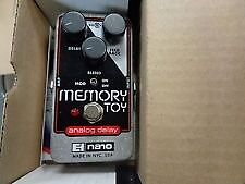 Memory Toy - Electro Harmonix - Analogue Delay - Brand New - Free Postage - Box & Instructions