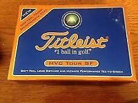 Titleist HVC TOUR SF set of 24 golf balls - brand new and unused from USA.