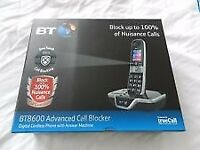 BT 8600 Advanced call blocker cordless phone with answer machine