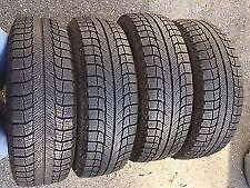 235/65R17 set of 4 Michelin Winter Used (inst. bal.incl) 75% tread left