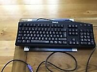 Dell RT7D20 Keyboard PS2 Black Wired