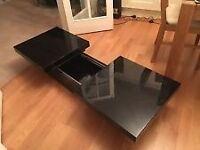 Dwell Piano Black Coffee Table