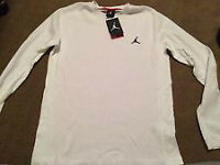 Jordan All Day Thermal 2.0 Long Sleeve T-Shirt size XL WHITE NEW