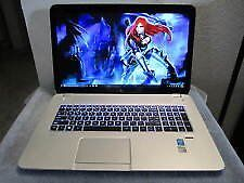 Hp Envy 17 Gaming laptop i7 12GB ram 1TB Backlit keyboard