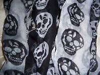 Brand New Skull Scarf-4 colours