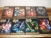 Star Wars 1-7 DVDs