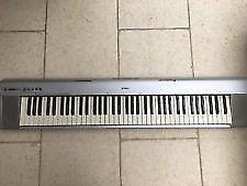 Yamaha Portable Grand NP-30 Keyboard, silver