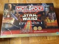 monopoly ***STAR WARS COLLECTORS EDITION EPISODE 1***