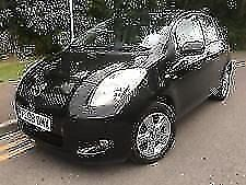 *12 MTHS WARRANTY*2008(08)TOYOTA YARIS 1.4 D-4D SR 5DR WITH SAT NAV ONLY 89K*GREAT VALUE*