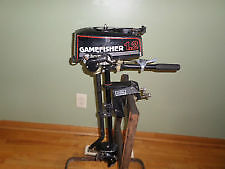 1.2 HP 2 Stroke GameFisher Outboard Motor