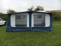 Caravan pyrimid awning Tuscany size 775 with 3 window sections all in very good condition