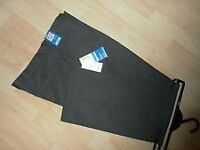 M&S Boys school trousers, BNWT, black, age 10-11 Yrs, 146cm, cost £15 accept £9 - BARGAIN