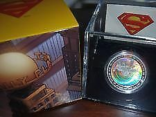 Piece de monnaie 2013 'Superman Achromatic Hologram' $20 silver