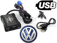 VW USB Adapter. Also Includes Inputs For Aux & SD Card Connects2 CTAVGUSB003