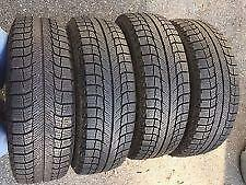 255/55R18 set of 4 Michelin Winter Used (inst. bal.incl) 100% tread left