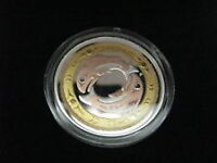 2010 Return of The Tyee Plaqué OR Proof $ 3 Silver .9999 fine.