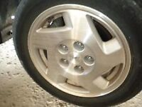 15' ALLOY WHEELS & 16'' PERFORMANCE STREET AND TRACK TIRES