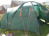 Eurohike WELLAND family tent sleeps 4 or more - no pegs