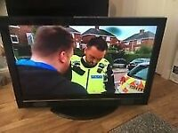 Hitatchi 42 Inch FULL HD 1080P LCD TV, Freeview, Remote Control, Good condition. Bargain!!