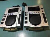 PIONEER CJD-100S DIGITAL PERFORMANCE DJ EQUIPMENT X2