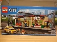 LEGO City Train Station 60050 Brand New and Sealed Never Opened