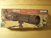 Optus Zoom 20-60x60 Spotting Scope with table tripod.