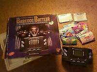 BOXED UP Commerce conflict barcode battler--very rare console / CASH OR SWAPS ARE WELCOME