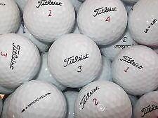 50 mix titleist golfballs