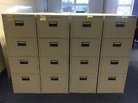 4 Draw Metal Filing Cabinets
