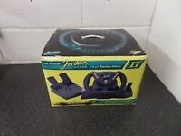Jordan 2 in 1 steering wheel and pedals for Nintendo 64
