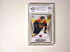 Connor McDavid pre nhl card rated 10 by Beckett
