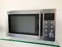Sharp R28STM 23L Microwave Oven - Stainless Steel