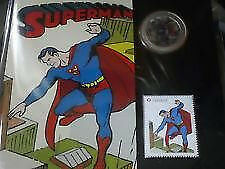 Pièce de monnaie 2013 Superman Lenticular 50ct Coin & Stamp Set