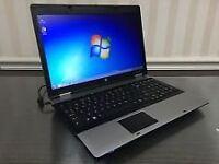 hp proBook 6555b Laptop Triple core on win 7 pro 64 Bit/4 GB RAM/HDD 320 /webcam/MS Office 2003