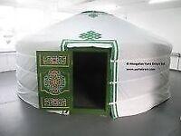 14ft diameter yurt, erected but never used