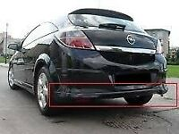 astra h x pack rear spoiler