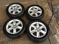"16"" Audi A3 SE alloys. Tyres also mint condition offers?"