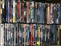 Hundreds of dvds