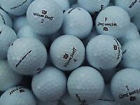 75 mix wilson staff golfballs