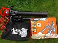 Black decker leaf blower collector