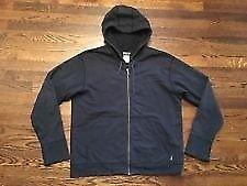 organic cotton hemp hoodie black large, vegan